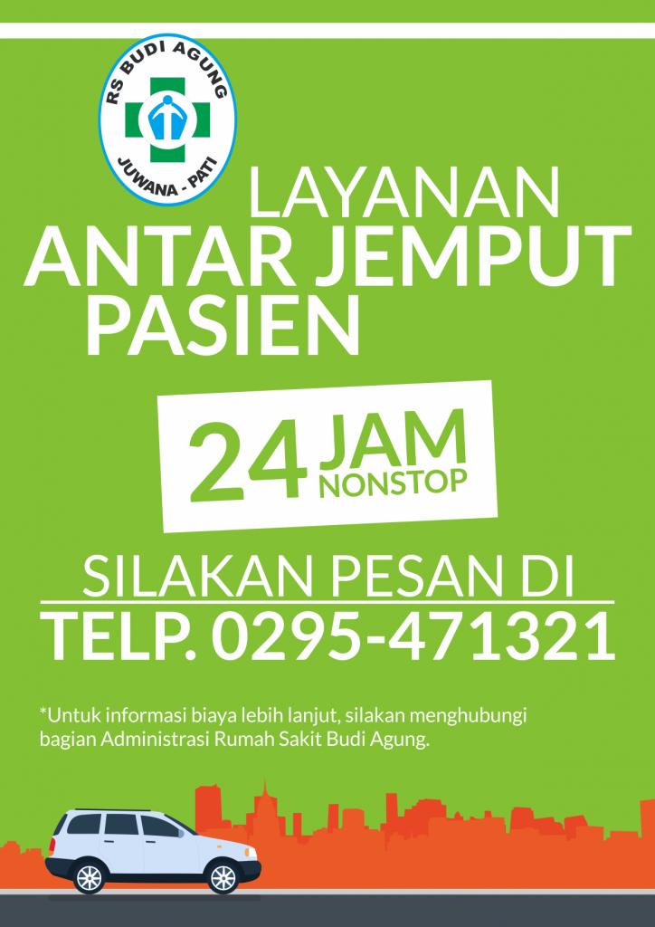Leaflet Layanan Antar Jemput Pasien